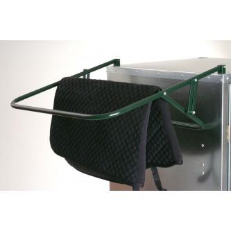 External saddle and blanket holder