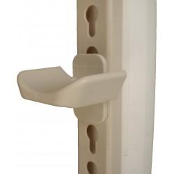 Stangenauflage Lochschiene, Nylon Safety System